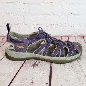 Keen Whisper Sandals w/ Rubber Toe